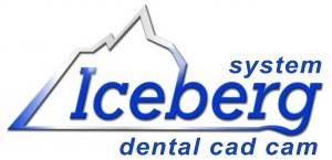 Logo Iceberg system dental cad cam RGB